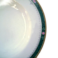 Vintage Christopher Stuart Large Rim Soup Bowl Somerset Pattern Discontinued Set of 4