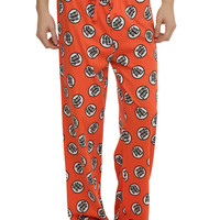 Dragon Ball Z Kame Symbol Print Guys Pajama Pants