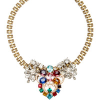 One Of A Kind 50 Year Necklace With Multicolored Stones by Lulu Frost - Moda Operandi