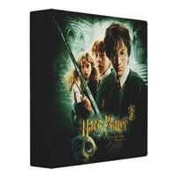 Harry Potter Ron Hermione Dobby Group Shot 3 Ring Binders from Zazzle.com
