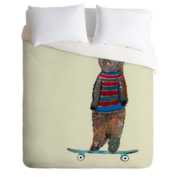 Brian Buckley Roll With It Duvet Cover