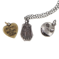 The Nightmare Before Christmas Interchangeable Charm Necklace