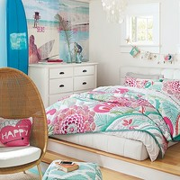 Ocean Bloom Bedroom