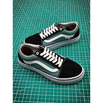 Vans Old Skool Pro Black Green White VN000ZD4OJE
