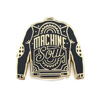 Machine Soul Lapel Pin