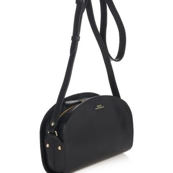 Half-moon leather cross-body bag | A.P.C. | MATCHESFASHION.COM AU