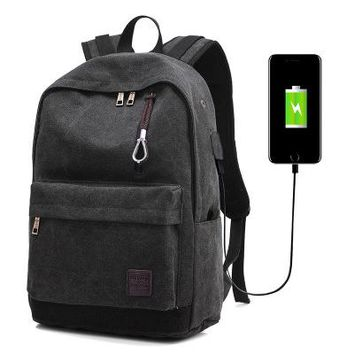 University College Backpack 2018  Student Book Bag New Arrivals USB Large Capacity Student  14-15.6 inch  Fashion 4 colors AT_63_4