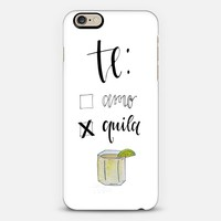 Tequila, Te Amo iPhone 6s case by Angela Davidson | Casetify