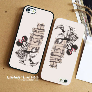 Minnie Mouse Schumacher  iPhone Case Cover for iPhone 6 6 Plus 5s 5 5c 4s 4 Case