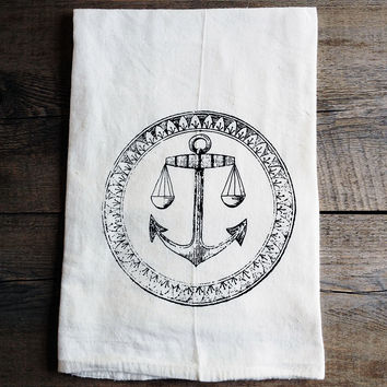 Anchor Kitchen Towel Pair