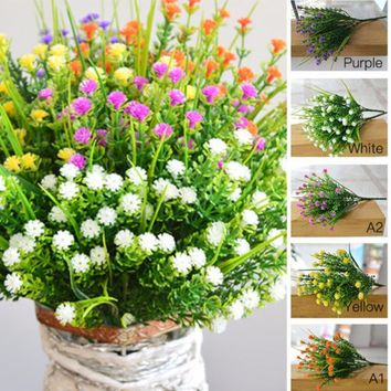 Artificial Gypsophila Flower Fake Silk Wedding Party Bouquet Home Decor'