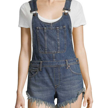 Summer Babe Denim Overall by Free People at Gilt