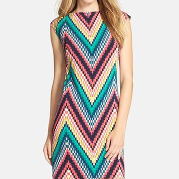 Women's Trina Turk 'Felana 2' Jersey Shift Dress,