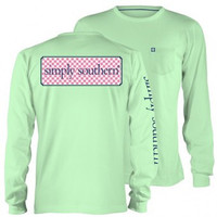 Simply Southern Long Sleeve With Logo and Front Pocket