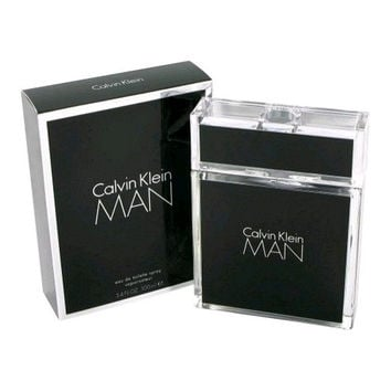 Calvin Klein Man by Calvin Klein, 3.4 oz Eau De Toilette Spray for Men