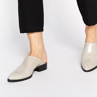 ASOS MALI Leather Pointed Mules