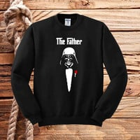the darth father sweater unisex adults