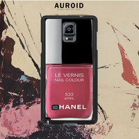 Chanel Nail Polish April Samsung Galaxy Note 3 Case Auroid