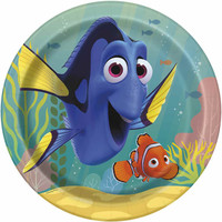 Finding Dory Party Dinner Plate [8 Plates - 9 Inches]