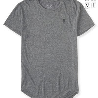 United XXVI Guys Heathered Longer Length Tee