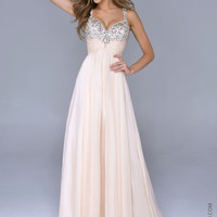 Nina Canacci 1040 -Nude Sweetheart Beaded Prom Dresses Online
