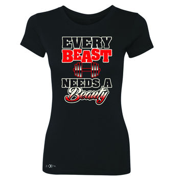 Every Beast Needs A Beauty Valentines Day Women's T-shirt Couple Tee