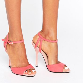 Little Mistress Tia Barely There Sandal