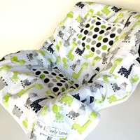 Car Seat Cooler for Infants, Baby, and Toddler, Giraffe, Green, Gray, Baby Boy, Boy