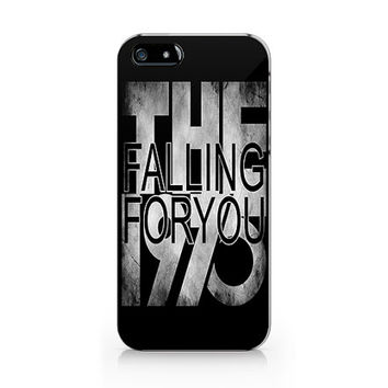 The 1975 phone case, iPhone 5 5S case, iPhone 4 4S case, Text phone case Free shipping M-537