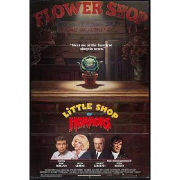 Little Shop Of Horrors Movie poster Metal Sign Wall Art 8in x 12in