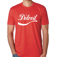 Ink Detroit Mens Enjoy Detroit T-Shirt