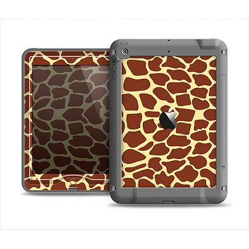 The Simple Vector Giraffe Print Apple iPad Mini LifeProof Nuud Case Skin Set