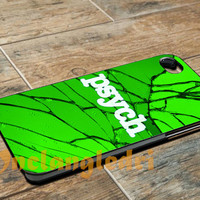 Psych cracked For - iPhone 4 4S iPhone 5 5S 5C and Samsung Galaxy S3 S4 Case