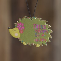 Car  Air  Fresheners:  Green  Hedgehog  Air  Freshener  From  Natural  Life