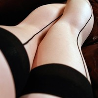 Sexy Seamed Thigh-High Stockings