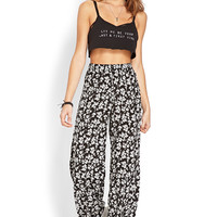 Floral Daze Wide-Leg Pants