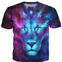 Firstborn - Galaxy Lion Shirt