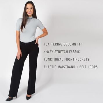 Column-Fit | Dress Pant Yoga Pant
