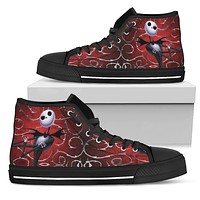 Nightmare Before Christmas Canvas High Tops Jack Skellington Express