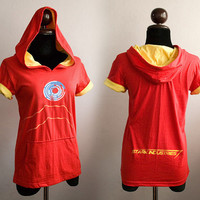 Iron manArc energy  ver.2 on red and yellow by SummerIsComing