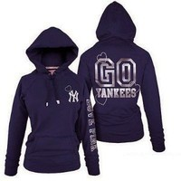 Victoria's Secret Yankees Hoodie Jacket New York, Girls / Junior fit