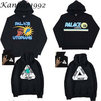 Kanbap1992 Palace Hoodie Men sportwear skate Tracksuits long sleeve Mens Sweatshirt cotton trasher Hoodies GB london sweat
