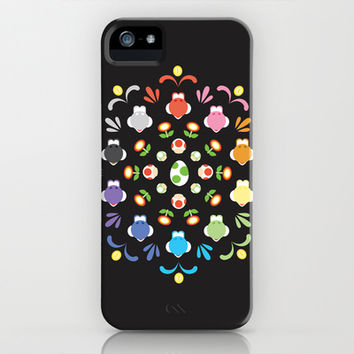 Yoshi Prism iPhone & iPod Case by Ashley Hay