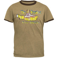 The Beatles - Submarine Ringer T-Shirt