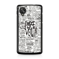 Pierce The Veil Song Lyric Nexus 5 case