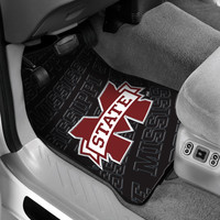 Mississippi State College Car Floor Mats (Set of 2)