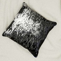 Mermaid Reversible Sequin Throw Pillow   Urban Outfitters
