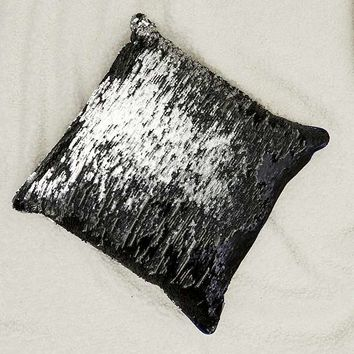 Mermaid Reversible Sequin Throw Pillow | Urban Outfitters