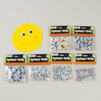 Assorted Craft Googly Eyes Case Pack 48