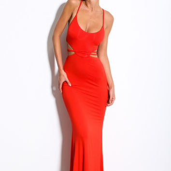 Thunderstorm Maxi Red